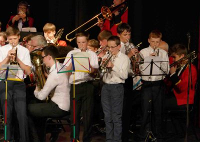 OBA Steps Wharfe Brass Otley Brass Band Yeadon Town Hall Apr 2017