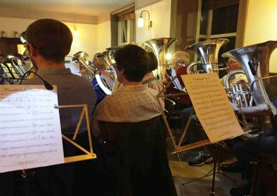 Otley Brass Band Practice Nov 2018