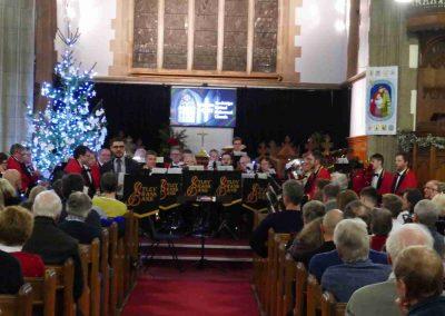 OBB Christmas Concert Dec 2019-057 Otley Brass Band