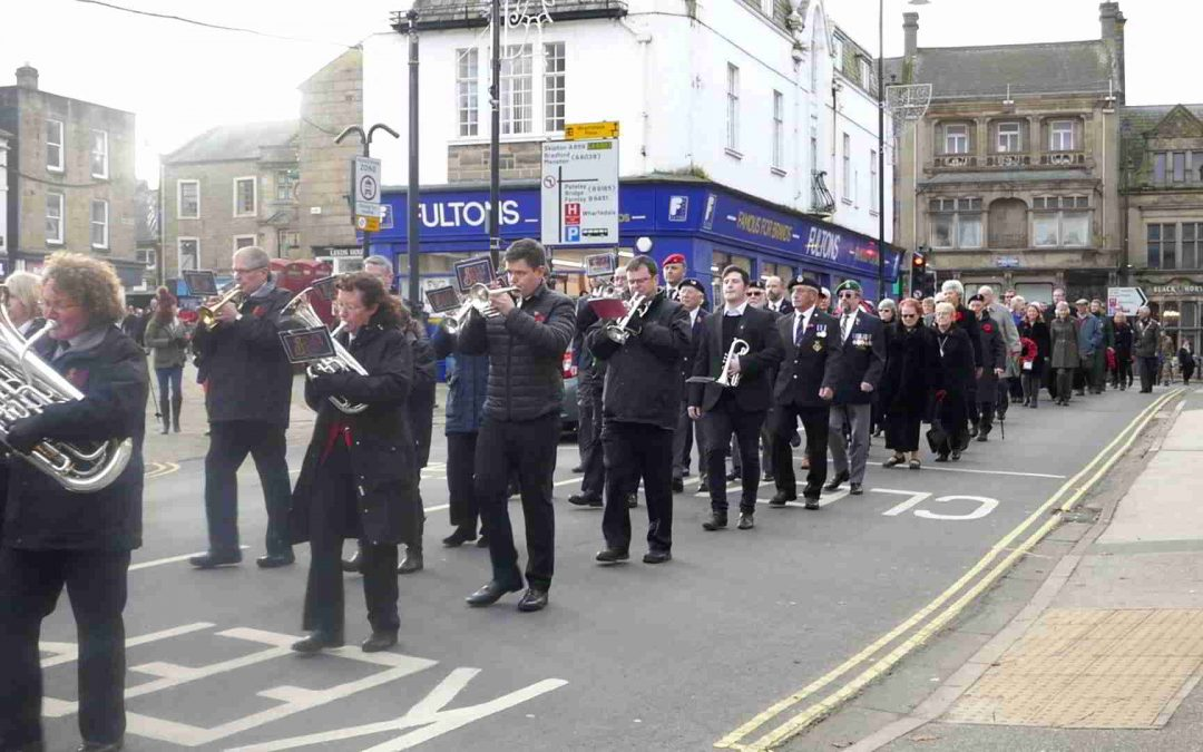 Otley Remembrance Day Parade Nov 2019