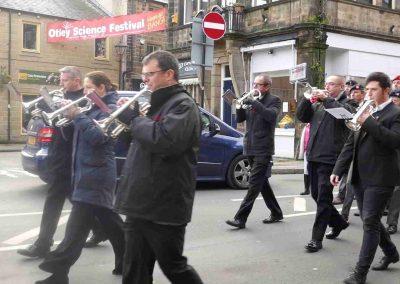 Otley Remembrance Day Parade Nov 2019