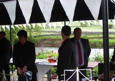 Burnsall Wedding Jun 2008