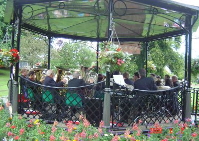 Pudsey Park Bandstand Aug 2009